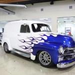 Custom 1955 Chevrolet Panel Truck For Sale In California Gm Authority