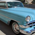Sky Blue 1954 Chevrolet Bel Air For Sale Gm Authority