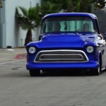 Custom 1957 Chevy 3100 Sounds Mean Sits Low Gm Authority