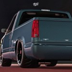 Obs Chevy Pickup Rendered With Tinted Carbon Fiber Body Gm Authority