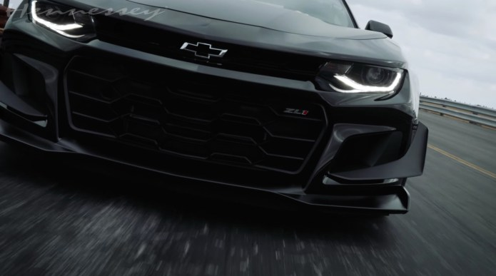 Hennessey Tuned Chevy Camaro Zl1 1le Makes All The Right Noises Video