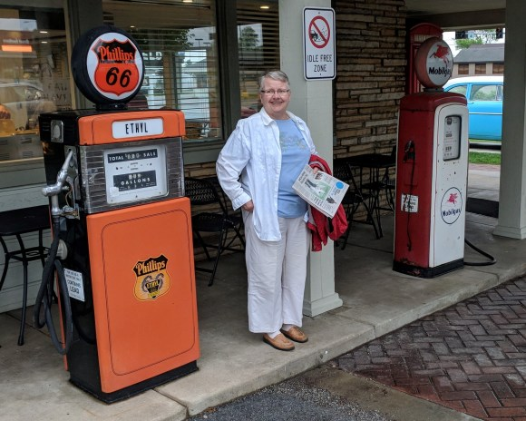 Antique gas pump 2