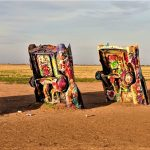 Cars at Cadillac Ranch