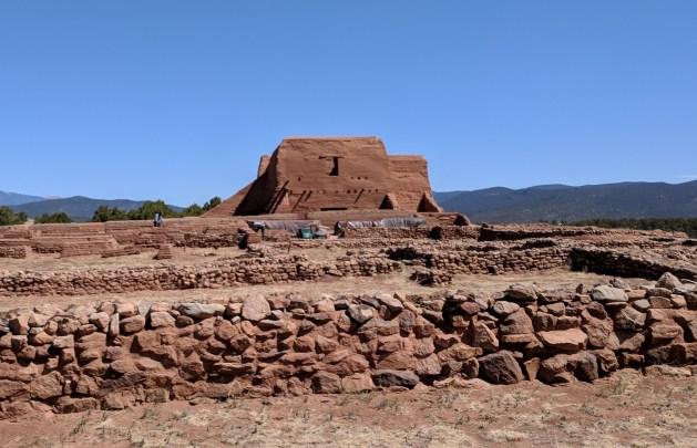 Pecos Pueblo Church and Grounds