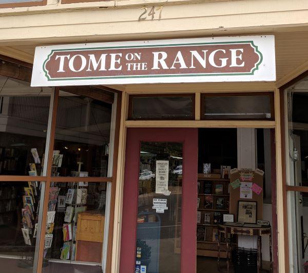 Tome on the Range bookstore, Las Vegas NM