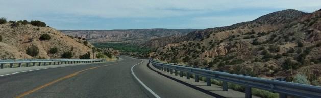 Hilly terrain