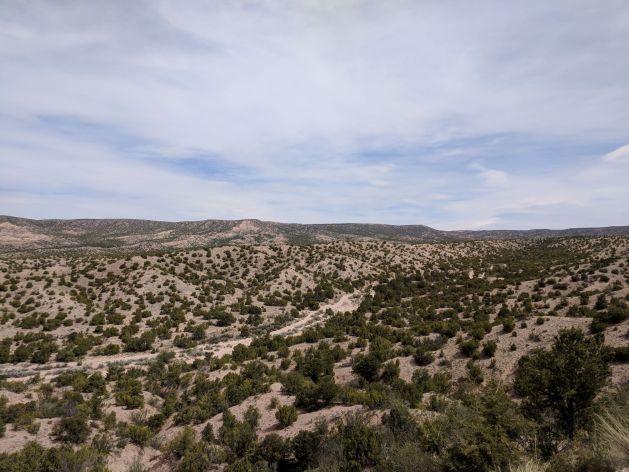 Sparse high desert scenery