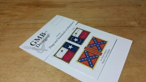 Sons of Liberty flags ( vertical stripes )