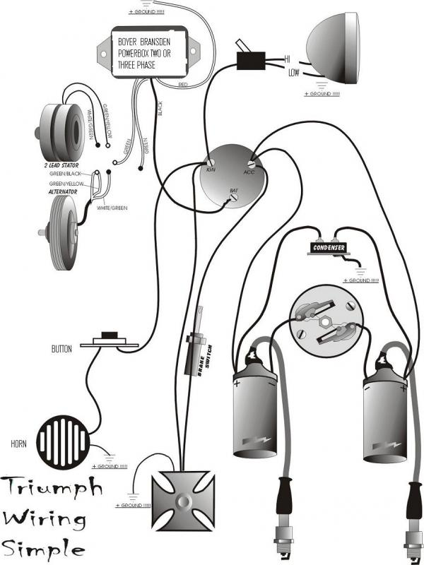 Yamaha 650 Chopper Wiring Diagrams