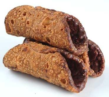 Cannoli Cookie MIGNON empty with chocolate 3,3kg - 200pc