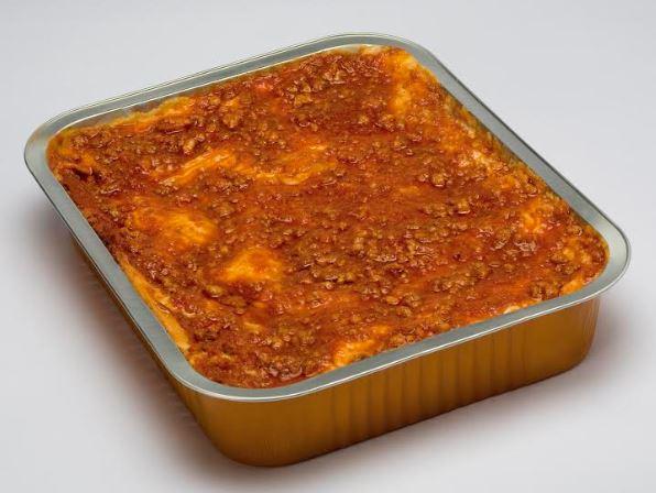 Bevroren Italiaanse lasagne kant-en-klaarmaaltijden