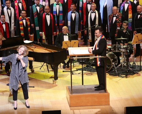 GMCLA's I RISE Concert with Holly Near performing - Photo: Claire Hannah Collins - LATimes