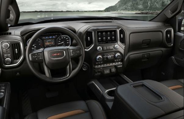 2019 GMC Sierra Interior