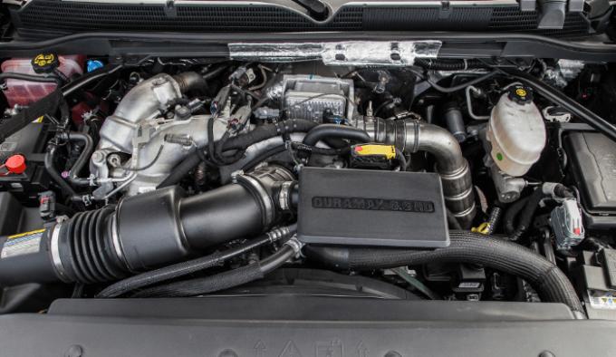 2019 GMC Sierra Denali HD Engine