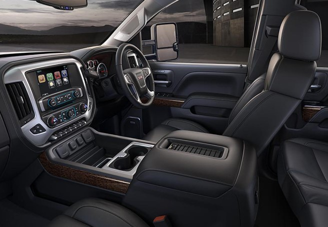 2020 GMC Sierra 3500HD Interior