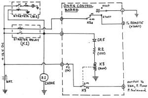 Onan Generator Remote Switch Wiring Diagram  Wiring Diagram