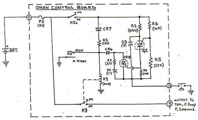 onan control board operation