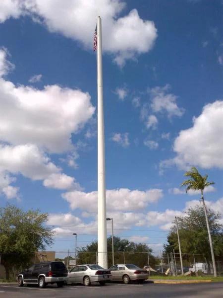 FLAG POLE (FP)