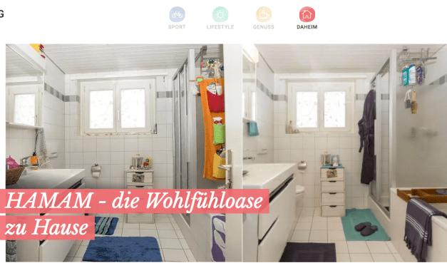 Wettbewerbsgewinn: Neustyling Badezimmer bei Tchibo Schweiz