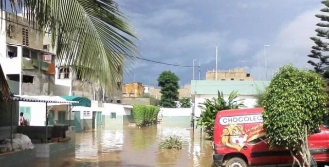 Inondations hôpitaux Sénégal