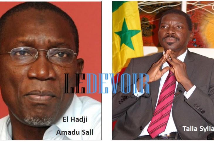 El Hadj Amadou Sall - Talla Sylla - Le Devoir