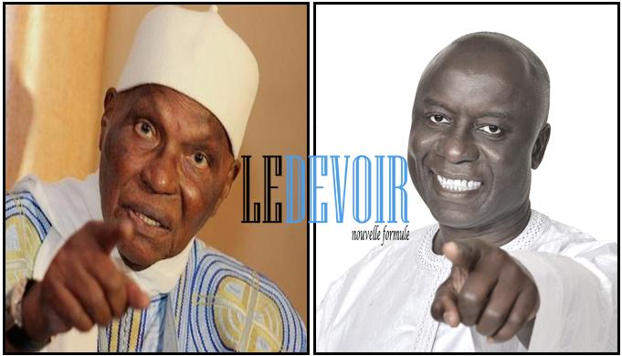 Idrissa Seck, Abdoulaye Wade - Le Devoir