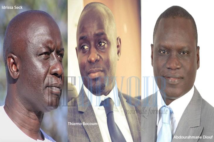 Idrissa Seck, Thierno Bocoum, Abdourahmane Diouf - Le Devoir