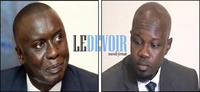 Ousmane Sonko, Idy (Idrissa Seck) - Le Devoir