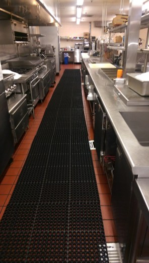 Hotel Kitchen and Mat Cleaning