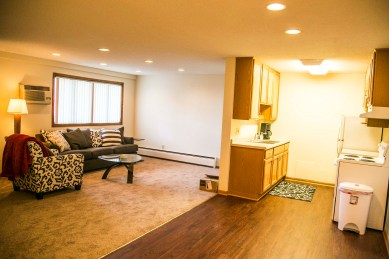 Interior apartment view of Fountain Terrace
