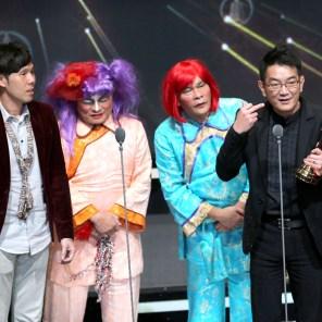 綜藝節目獎由超級夜總會獲得。主持人許效舜與澎恰恰。