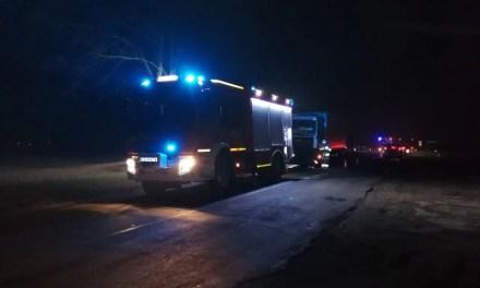 DW434 Szczodrzykowo, Wypadek z udziałem Ciężarówki