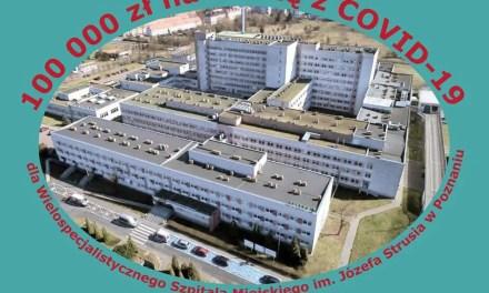 100 000 zł pomocy dla Szpitala na Szwajcarskiej z Gminy Kórnik