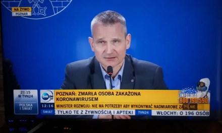 57-letnia Zarażona Koronowirusem ZMARŁA – 1 OFIARA ŚMIERTELNA WIRUSA W POLSCE.