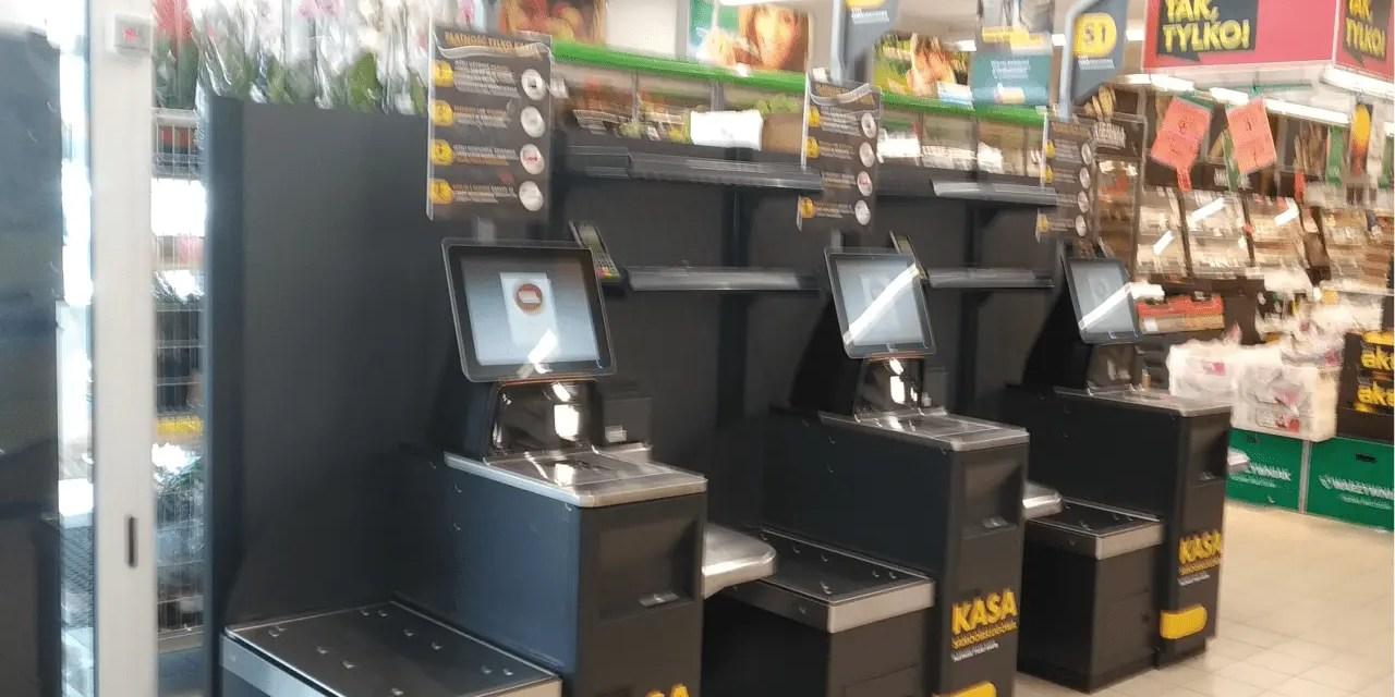 Biedronka Borówiec – Nowe kasy samoobsługowe