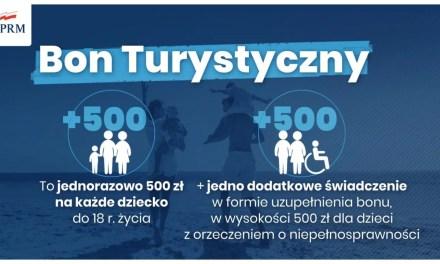 Bon turystyczny – 500 zł dla dzieci, by pobudzić turystykę krajową.