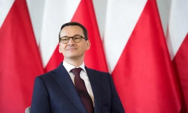 Premier Mateusz Morawiecki w Środzie Wielkopolskiej – Wystąpienie [Wideo – live]