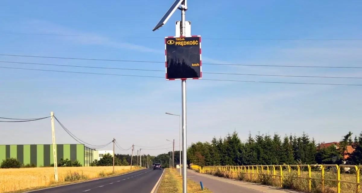 Opracowanie projektu stałej organizacji ruchu na ul. Mieczewskiej w Kamionkach wraz z zakupem i montażem interaktywnego znaku (radarowy wyświetlacz solarny).