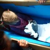 Pinguin auf Scholle
