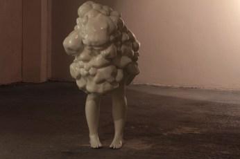 Venous malformation, Haemangioma Series, fibreglass resin, enamal paint, 2012