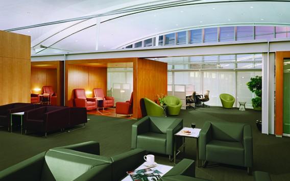 Air Canada Maple Leaf Lounge Gabriel Mackinnon Lighting