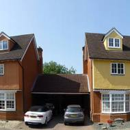 Two Link Detached Properties With Pitch Roof Dormers To Front Elevation, External Finish To Exactly Match Existing House