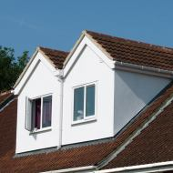 Double Pitched Roof Dormer - Maximising Headroom. This Is Dependent On Existing Roof Height.