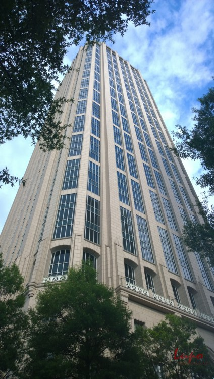 One Atlantic Center, West Peachtree Street at 14th Street, taken 11 June 2014, with a Nokia Lumia 1020.