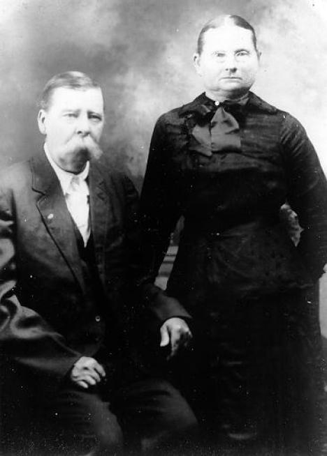 My great-grandparents, James David Lupo, and Sarah Ella (Harp) Lupo, around 1910.