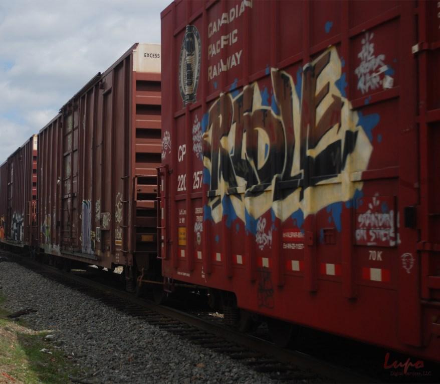 Trains #2, Chamblee, GA, 8 March 2009