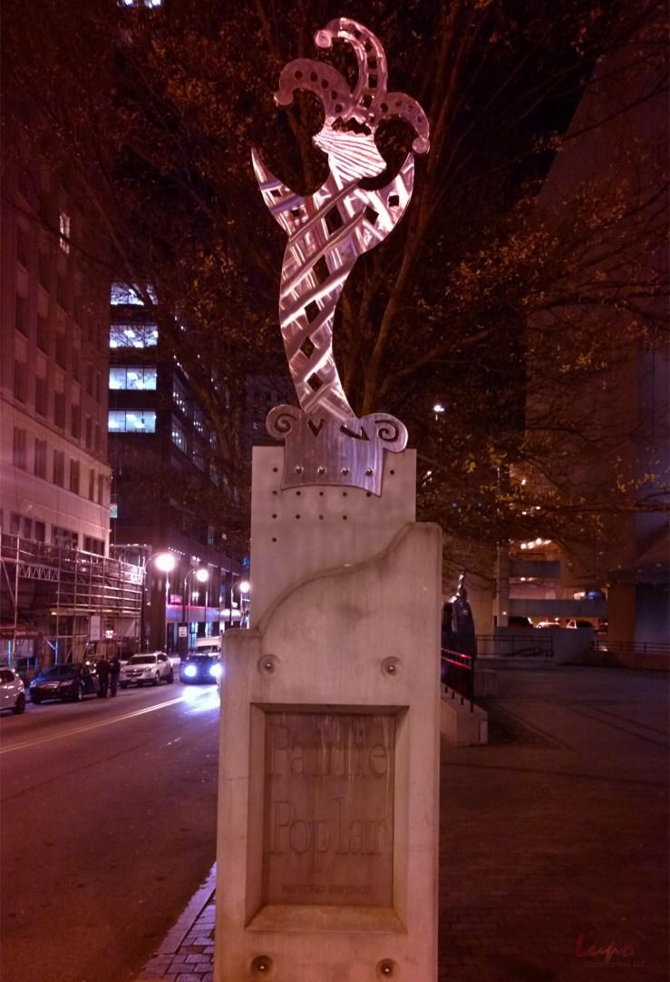 Fairlie Poplar, Downtown Atlanta, 25 November 2014