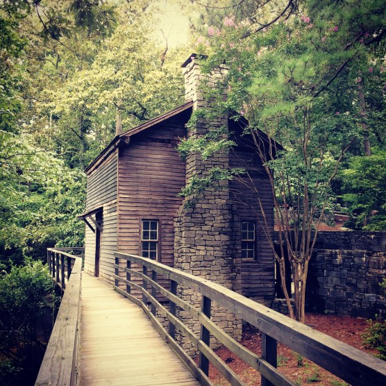 The Gristmill at Stone Mountain, 29 August 2015