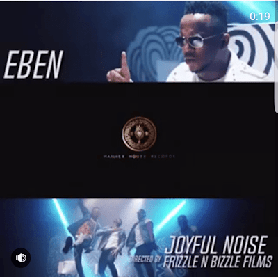 Eben - Joyful Noise Lyrics