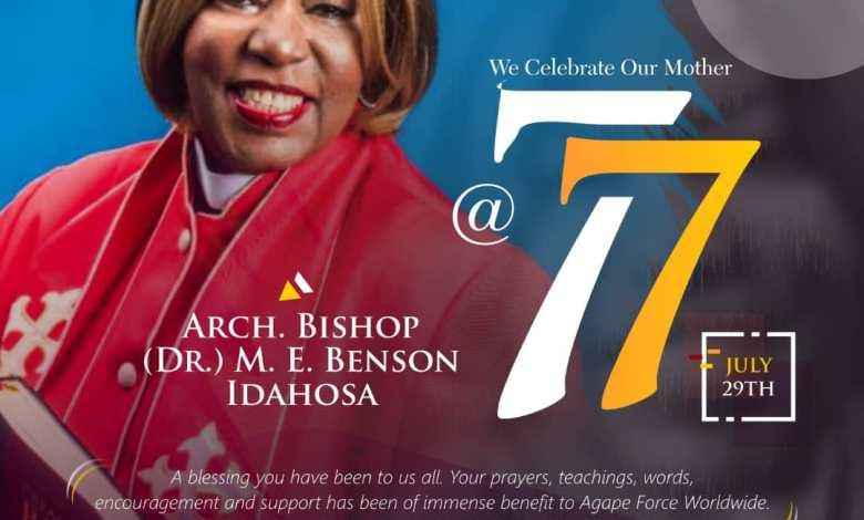 Archbishop Margret Benson Idahosa - Beautiful Mama